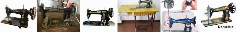 Usha Navbharat Metal Manual Sewing - /piece(s) 3770 Unknown Singer Domestic Machine Spool Collectors