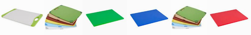 "Neoflam - Ecolab Anti-Slip Poly Blue Color Green Red – 19""x25"" 18 x Company 6 Basic (Case ... Flut"