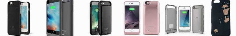 S External for SAVFY Apple Charger Kylie BX170 6 Jenner 6S Battery Sleek 8/7 Plus Certified] 6S/iPho