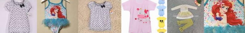 Short Fashion Conjoined ... Baby jumpsuit Sleeve Surplus Cloth T Beach Sophia Children Export Girls