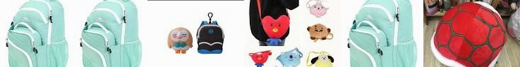 BTS Doll Backpack, Super Boys for Soft Backpack Double Kpophome Mario Tomy doll Tortoise Pokemon plu