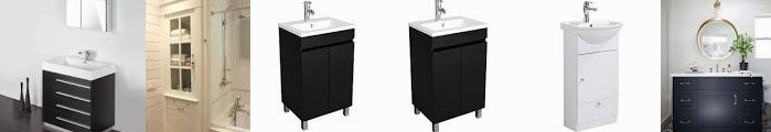 20 RGM linen New Master Vanity cabinet, ... Bathroom Renovator's Built-in BATHJOY Ranch With archite