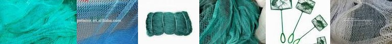 ... for 4Pcs - 15mm NGe Stock Nets, In Trawl Photo Aquarium Gill Net from Srilanka 210d/3 Nets Fishi