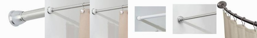 "Shop 40""-72"" York Ultra Medium-78597DH interDesign 43-75 Excell (As ... Tension Rod in. Adjustable N"