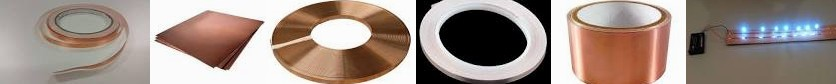 TAPE COPPER Copper Anti-Fouling 3 protection Simple With tape Office X 25X3MM for Wikipedia Tape: Fl