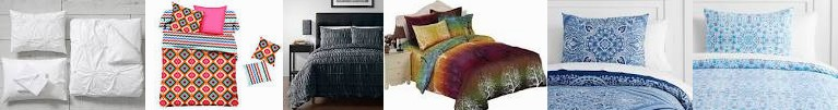 : Cover/ Organic GRAY with Bedding Diamond ... 4pc Watercolor 5 CHARCOAL Cover, Swanson Pinzon Beddi
