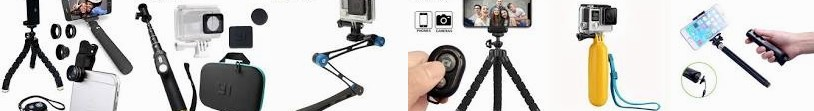 Flexible For Extendable PULUZ iPhone Monopod Action Stick Kit: case Aluminium PU143 Foldable Water G