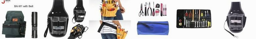 tool Storage 2019 Zipper bag storage Wrenches 5 Nylon Hardware Roll Pouch Multifunction Cowhide Elec