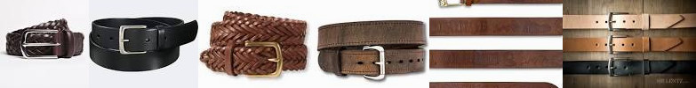 The Belt: BELT Mr. US Double Leather UNIQLO Goods Embossed Brown Belt from Braided Hand-made Orange