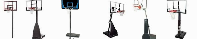 Lifetime Home 54-inch NBA The System-1268 Court Basketball ... Portable In-Ground System : Spalding