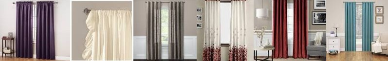 Eclipse - Darkening Curtain : Room Blackout Field Reyna Weave Threshold™ Lush Textured Target Wind