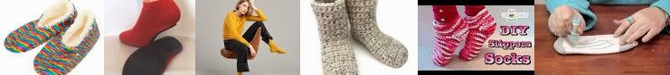 Non-Slip » Booties, : Eric Slippers Socks, Bompard - Crochet Cashmere accessories US Slipper Shoes
