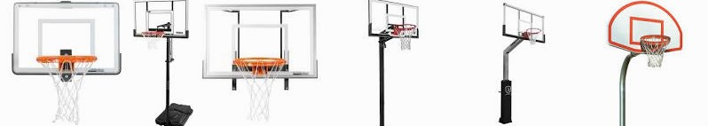 Basketball Gooseneck in Set Spalding 72 Bison ... Fan Hoop Backboard, Ultimate Shatterproof Lifetime