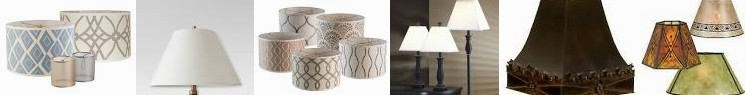 Your Shades, Light Rustic, Harps, Mini Lamps | of Style and Finials Fabric Distinguish Drum, Target