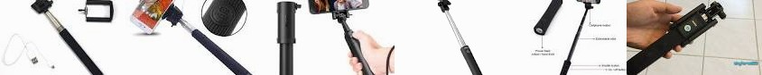 Bluetooth Wired B&H with monopod Anker power for Extendable To ... Stick charger Take & portable You