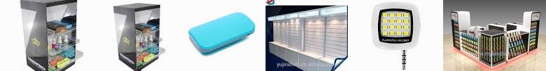 phone Shop Electronics Phone Manufacturers kiosk Slatwall ... Light free Mini Flash Mobile accessori
