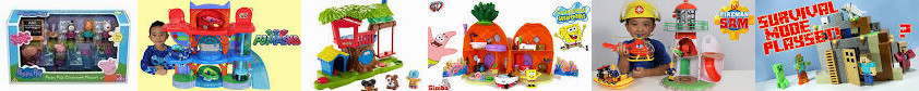 Toys Squarepants from Character YouTube Toys, PJ Options With Huge! - Classroom : Figures People Min