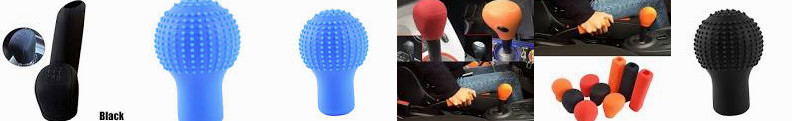 Shift Tailor Car Knob 2Pcs YOUNGFLY Round ... 1Pc YouCY Fit Head : Cover Shop Manual Online Silicone