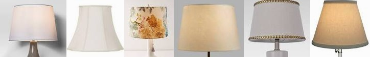 Accent Lamps Market Love Solid | Cream Linen Anthropologie Shades Plus You'll Threshold™ : Wayfair