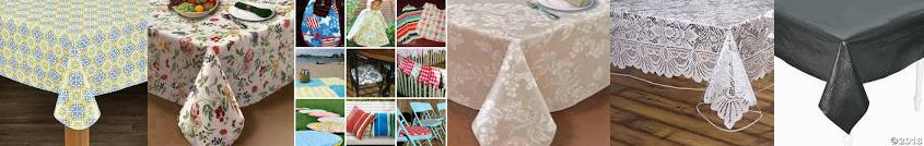 "Placemat: Indoor/Outdoor DIY Tablecloth/ ... Disposable or Back Linens Lintex 108"" Life with 60"" - H"
