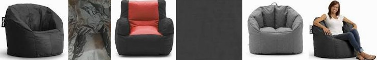 Sale for Black Duo Black/red FL Stretch Palm bag - Limo bean chair Engine Chair New in SmartMax Joe